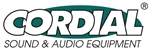 logo CORDIAL SOUND & AUDIO EQUIPMENT