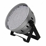LED PAR 64 186 RGBW  DMX SREBRNY EFEKT FLASH RATY