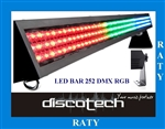 LED BAR 252 RGB DMX STAIRVILLE RATY