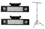 2 x LED MAGIC BAR RGBW DMX EFEKT ŚWIETLNY STATYW