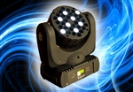 LED Moving HEAD WASH 36x3W CREE EFEKT GŁOWICA RATY