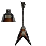 DBZ CAVALLO AB-FR ATB ANTIQUE BURST GITARA EL.