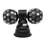 2x Kula LED Double Ball 2 x 9 W flash efekt RATY